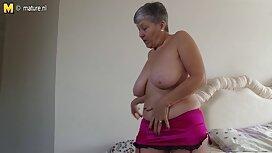 Її чоловік повернувся, а дружина зрадила порно з мамою його.