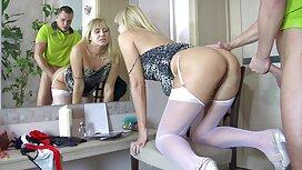 Підбірка красивої син трахнув свою маму блондинки в панчохах